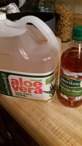 aloe and ACV