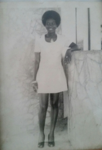 The pic of my mom in her teens that inspired me to go natural