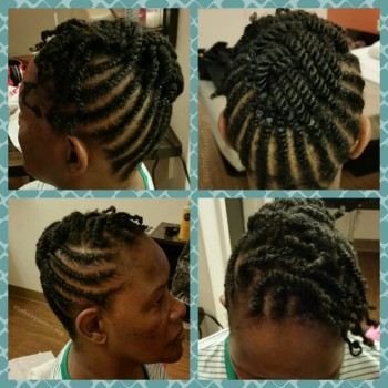 Excellent Stay Stylish In The Summer With Flat Twists And Rod Sets The Short Hairstyles For Black Women Fulllsitofus